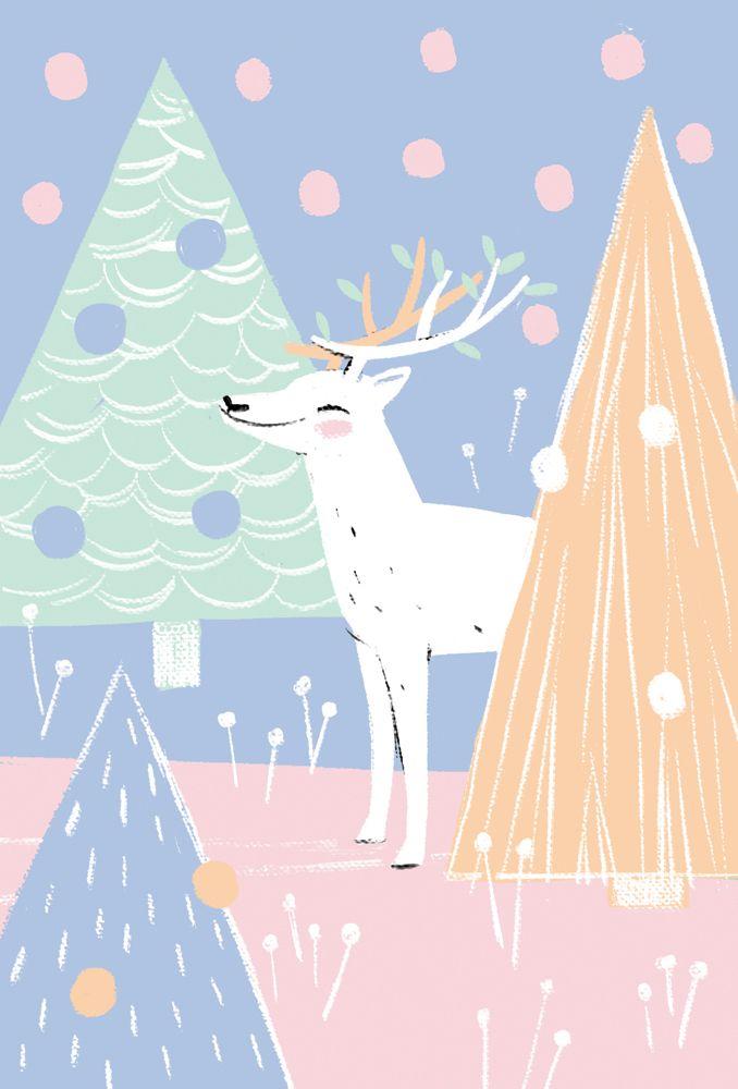 Unicef Christmas cards on Behance | Motifs, modèles, illustrations ...
