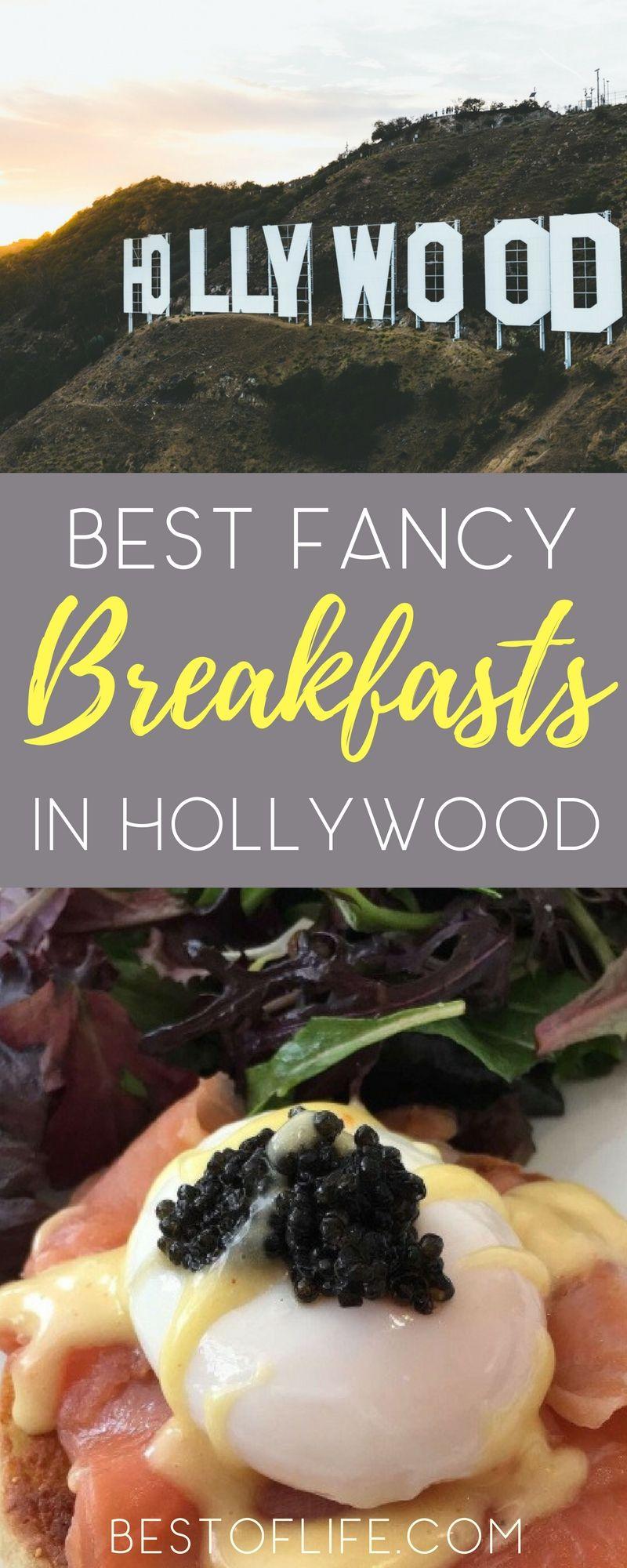 Best Fancy Breakfast Restaurants In Hollywood