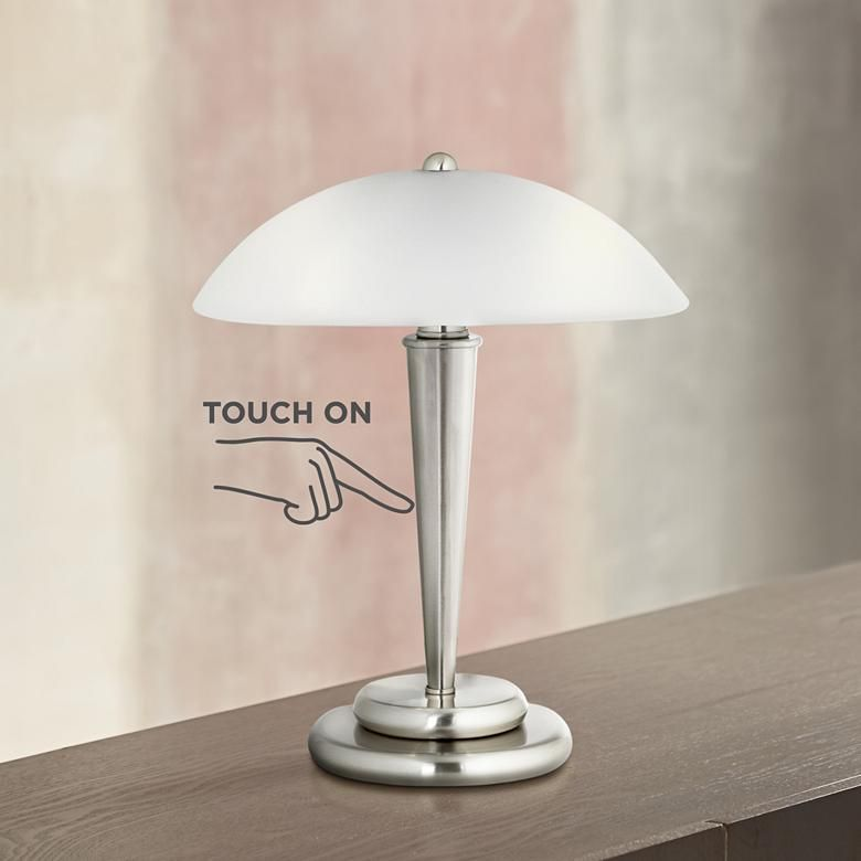 Deco Dome 17 High Touch On Off Accent Lamp P6169 Lamps Plus Touch Table Lamps Touch Lamp Glass Table Lamp
