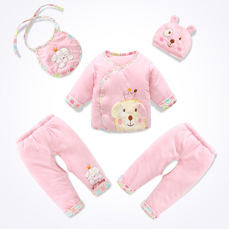 3b4b424242a1 Click to Buy    100% cotton newborn baby clothes autumn winter ...