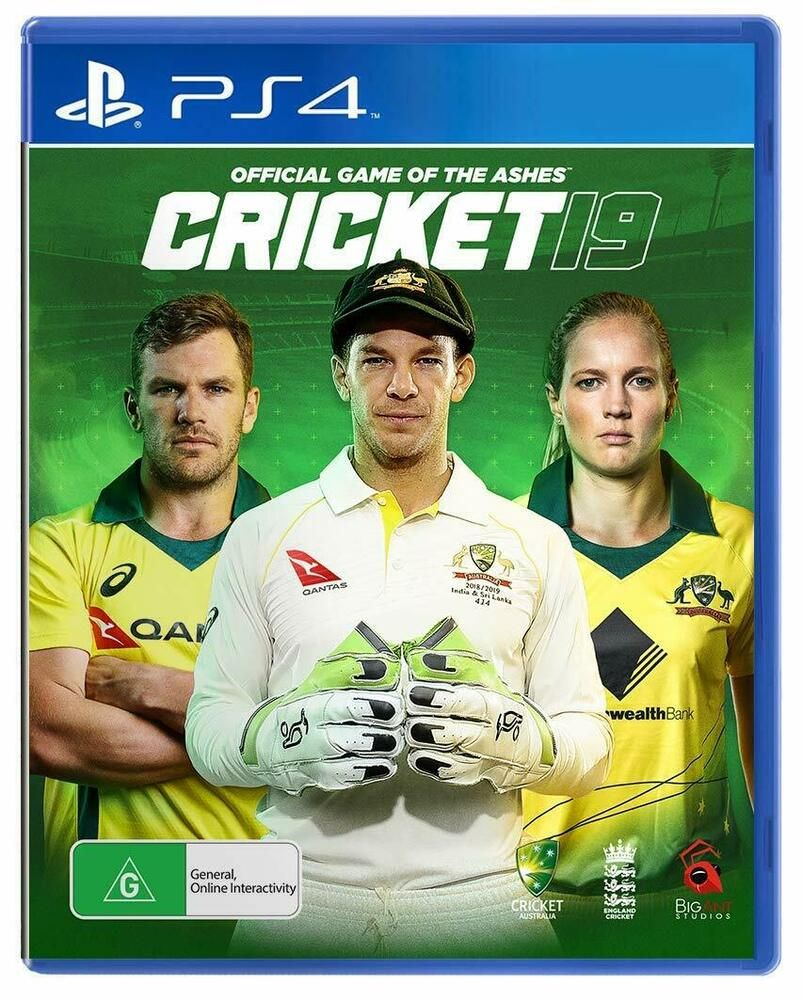 Cricket 19 2019 Official Game Of The Ashes Sony PS4
