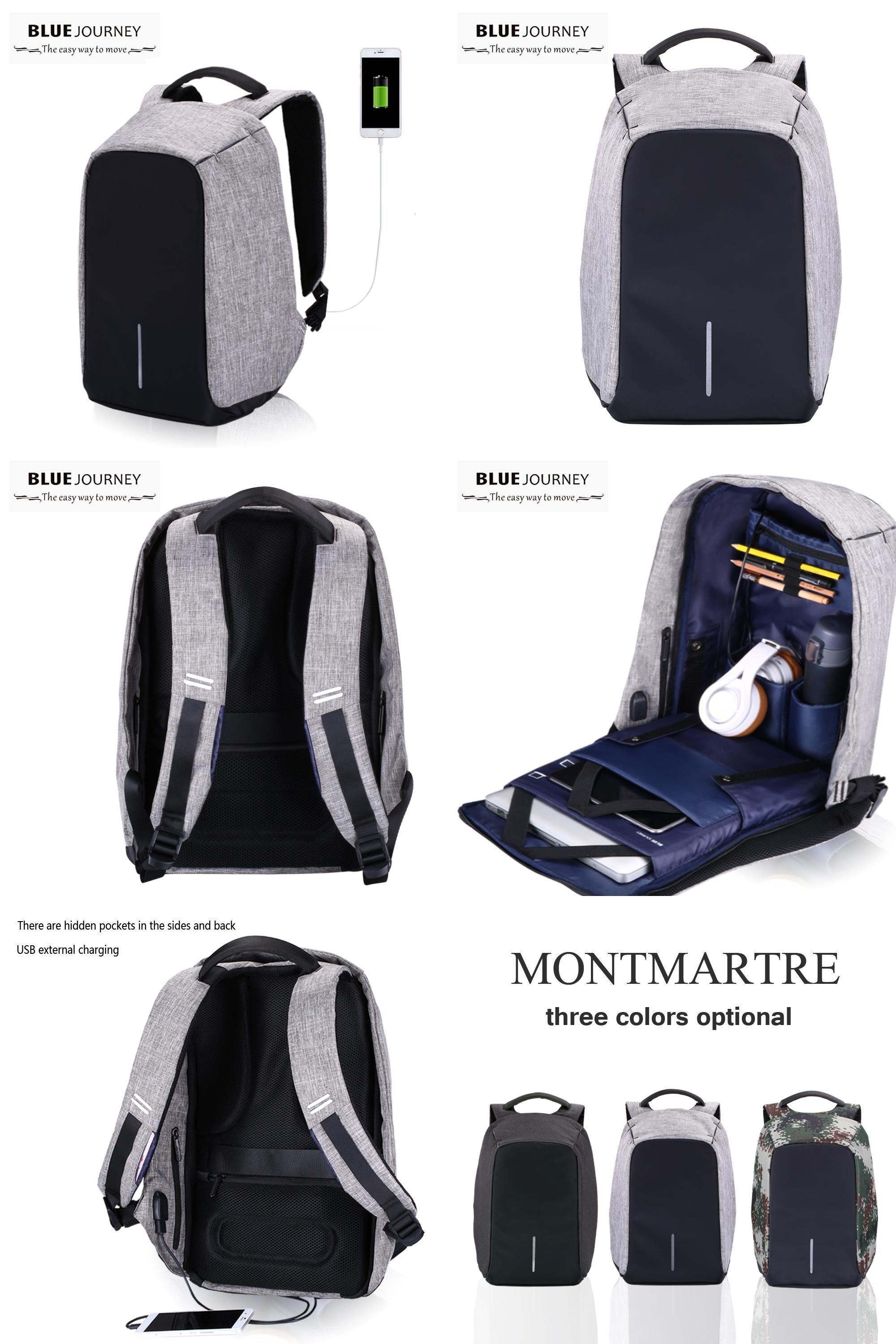 d7328fba6238  Visit to Buy  Anti-theft 15.6 inch Waterproof Laptop Bag Fashion Mochila  Security