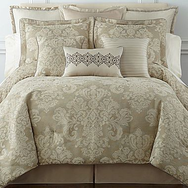 royal velvet® palais 4-pc. comforter set | bedding sets, bedrooms