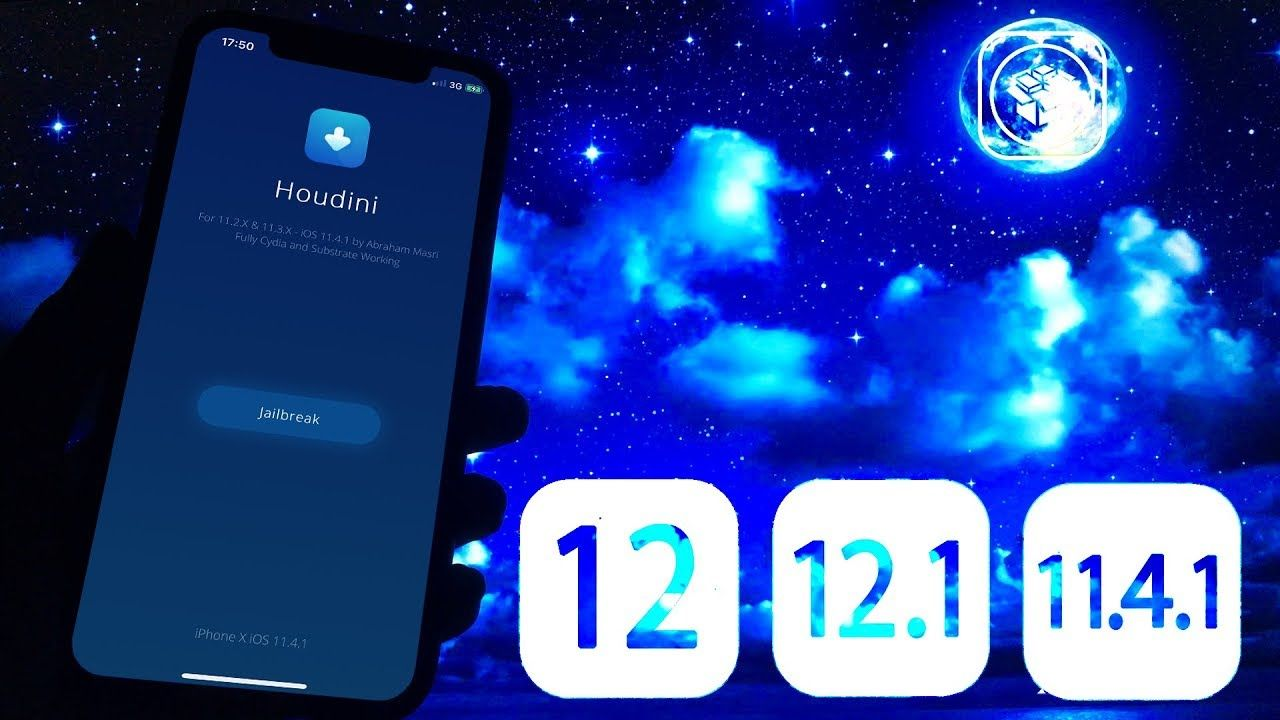 Houdini 12 Jailbreak iOS 12 - 11 4 1 How to JB [Cydia Added