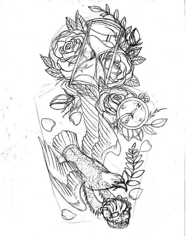 pin by cribbachaos tattoo art on malin sleeve ref pinterest tattoo sketch tattoo and tattoo. Black Bedroom Furniture Sets. Home Design Ideas