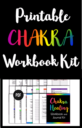 Instant Downloadable Printable Chakra Healing Opening And Clearing Workbook And Guided Journal Kit T Spirit Communication Chakra Healing Psychic Development