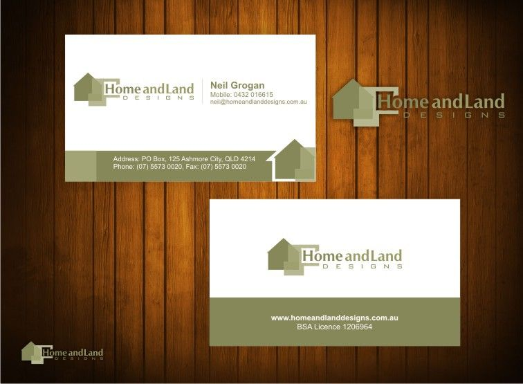 Create The Next Stationery For Home And Land Designs By ManuRocks