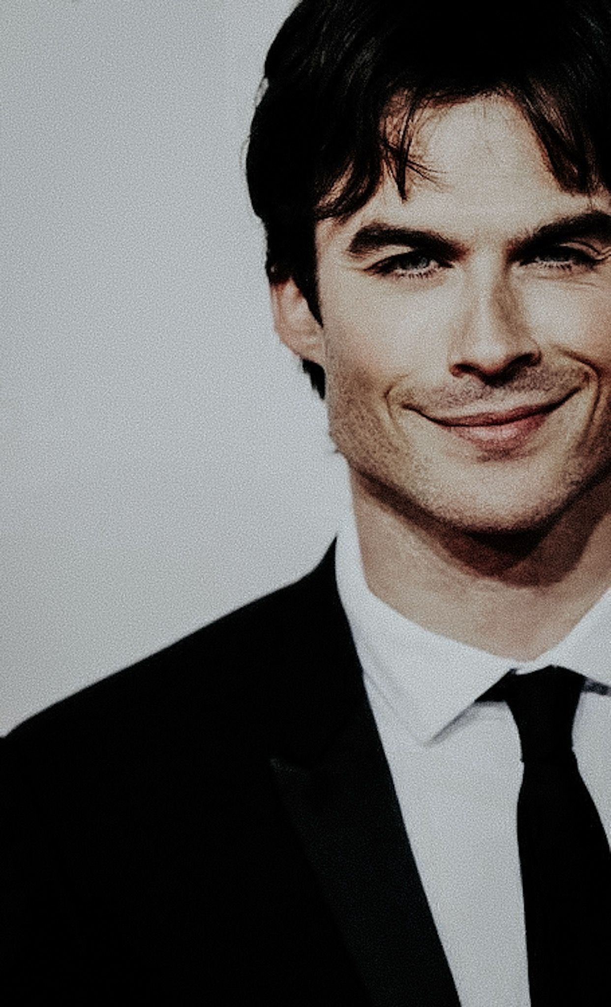 His Smile Vampire Diaries Damon Ian Somerhalder Vampire