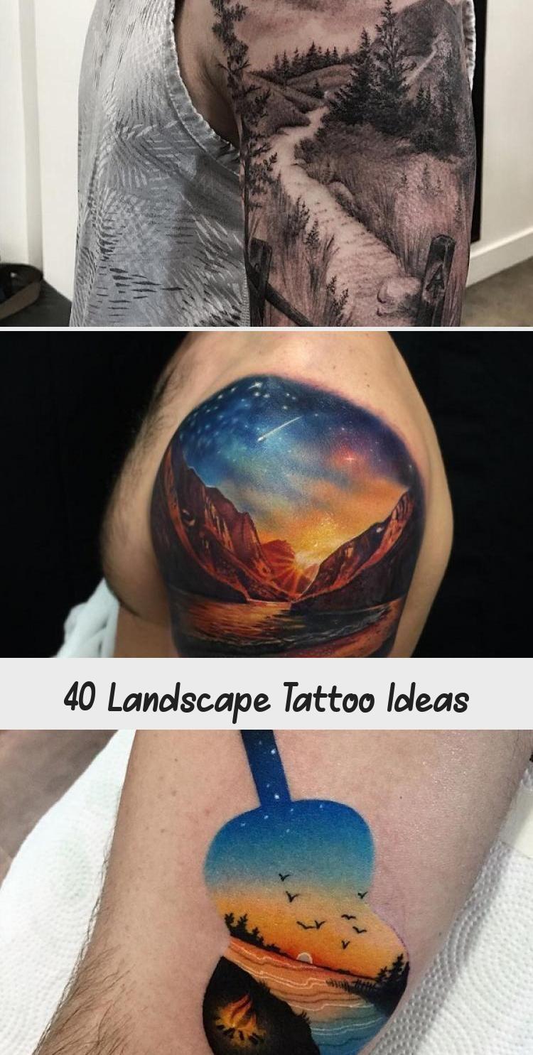 Photo of Idées de tatouage de paysage #MexicanArtTattoo #ArtTattooDesign #PopArtTattoo #ArtTatt …