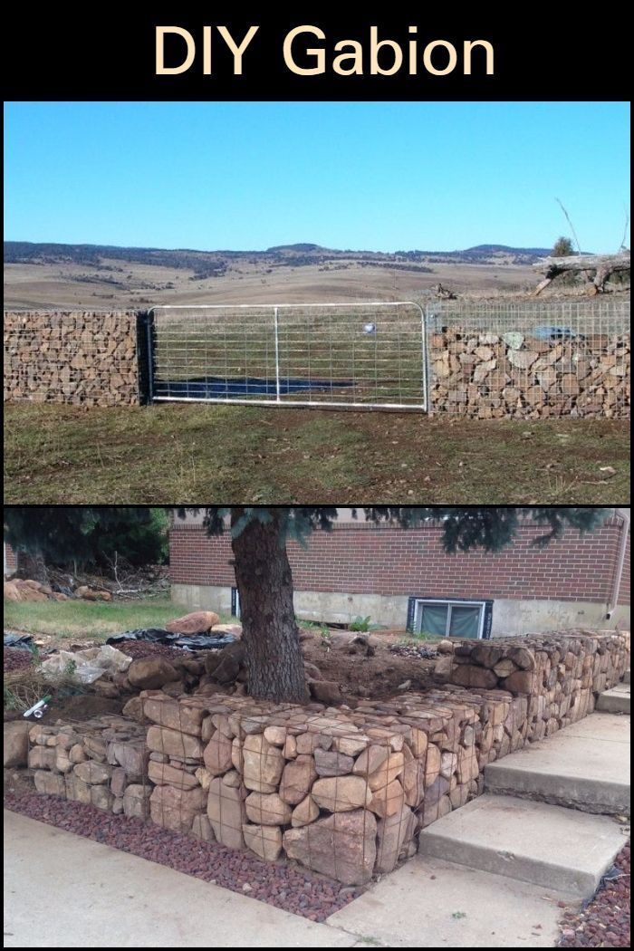 diy gabion rock walls without concrete gabion wall on types of walls construction id=69870