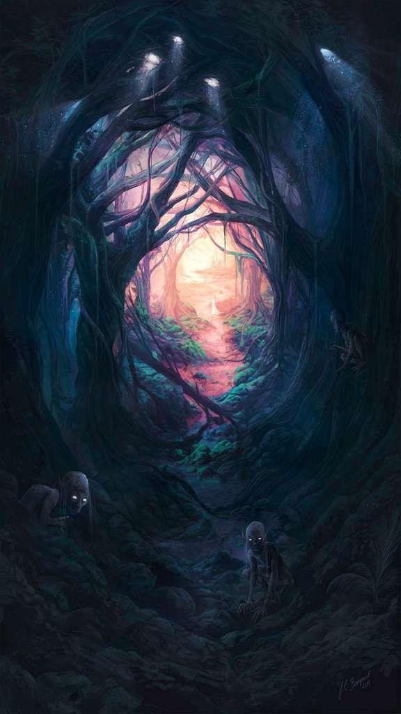 Dark Fantasy Wallpaper Iphone Xs Max 2019 Nr24 Fantasy Landscape
