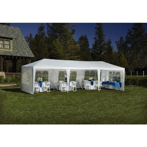 Large Outdoor Party Event Tent 9 Ft X 27 Ft Birthday ...