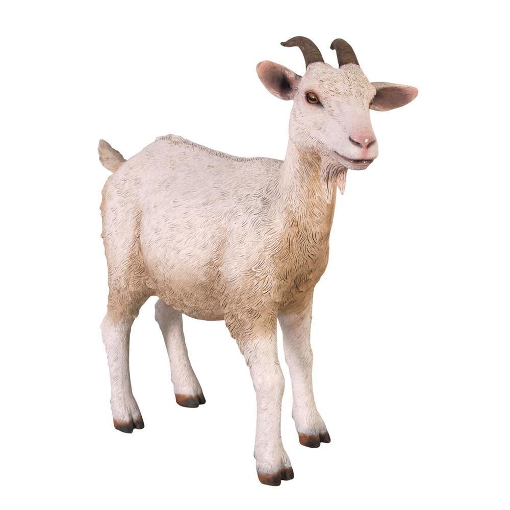 Design Toscano 31.5 in. H Billy Goat Statue Animal
