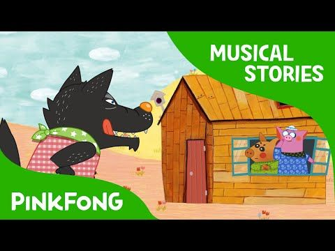 The Three Little Pigs | Fairy Tales | Musical | PINKFONG Story Time For  Children   YouTube