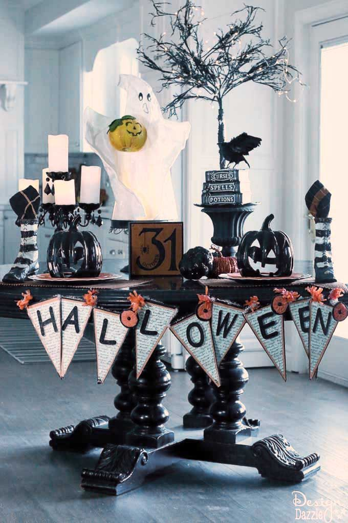 How To Set A Halloween Tablescape Halloween halloween and