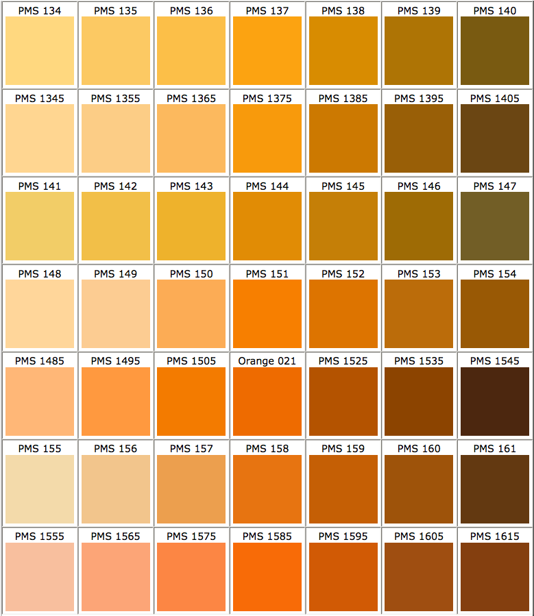 Screenshot Orange To Brown  Color Story