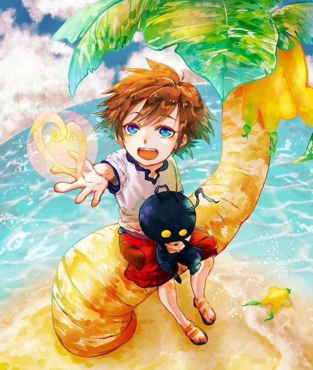 Sora Kingdom Hearts Kingdom Hearts: Kingdom Hearts Art, Sora Kingdom Hearts