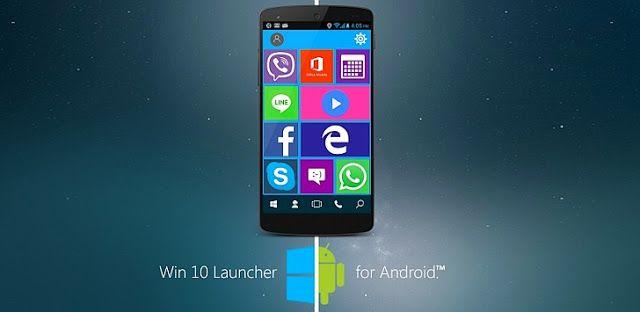 لانشر Win 10 Launcher Pro v2.2 النسخة المدفوعة للاندرويد ...