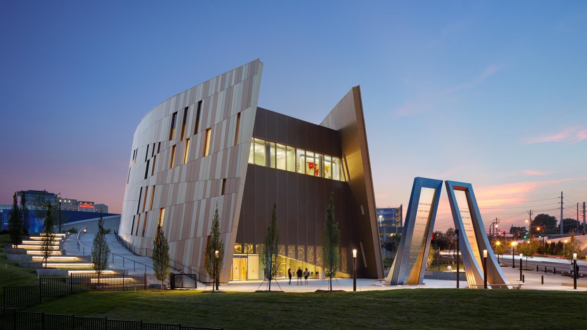 National Center For Civil And Human Rights Atlanta Georgia Architect Civil Rights Museum Civilization