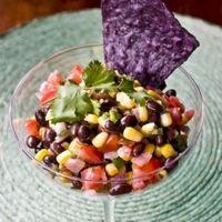 Black Bean , Corn and Lime Salsa