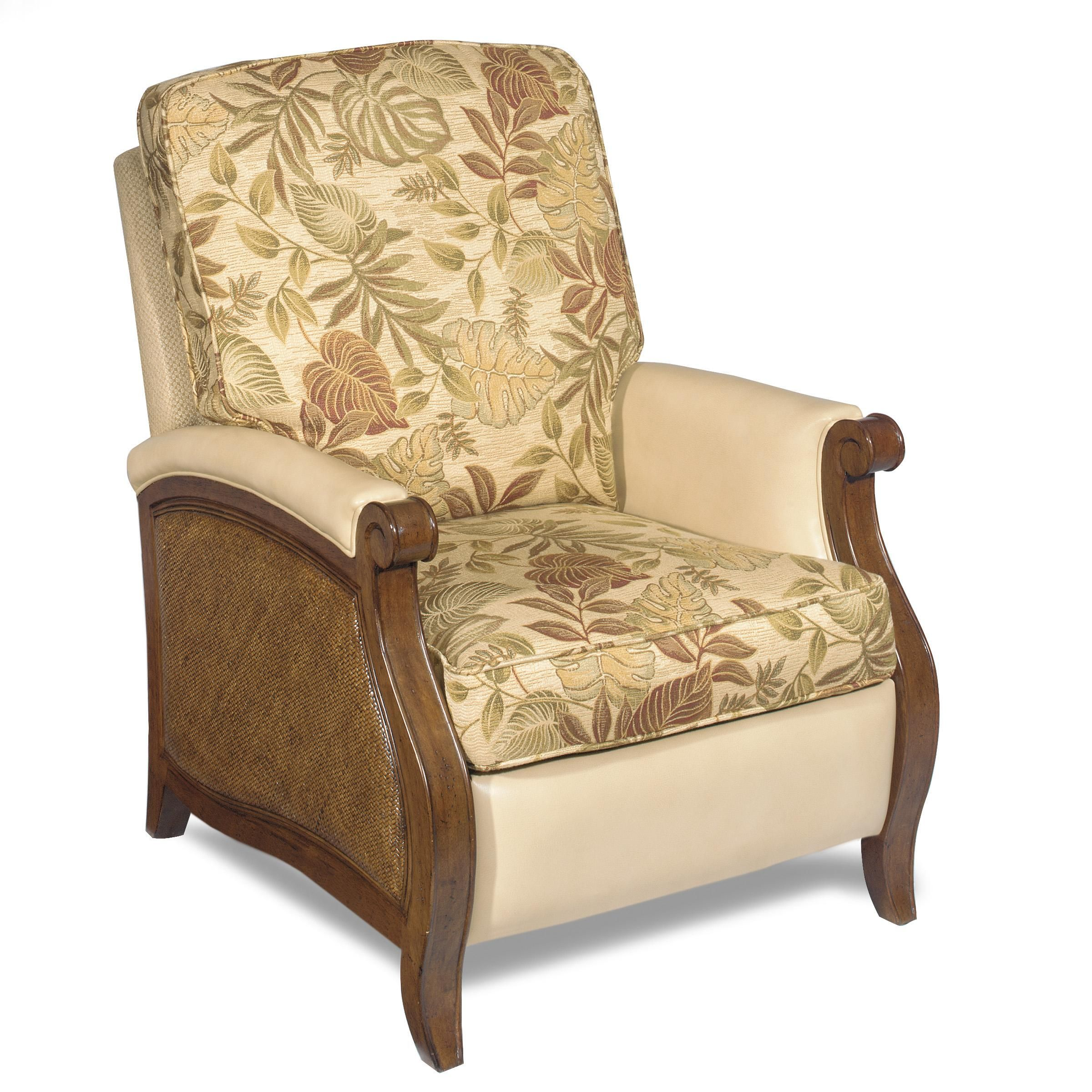 Hooker Furniture Windward Raffiaarm Dining Chair In Light: Windward Recliner By Hooker Furniture