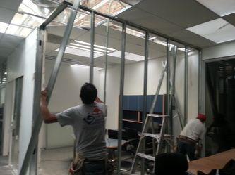 Montaje de bastidor de Aluminio para muros  #oficinainbest