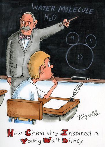 How chemistry inspired Walt Disney (Reynolds) | funny ...