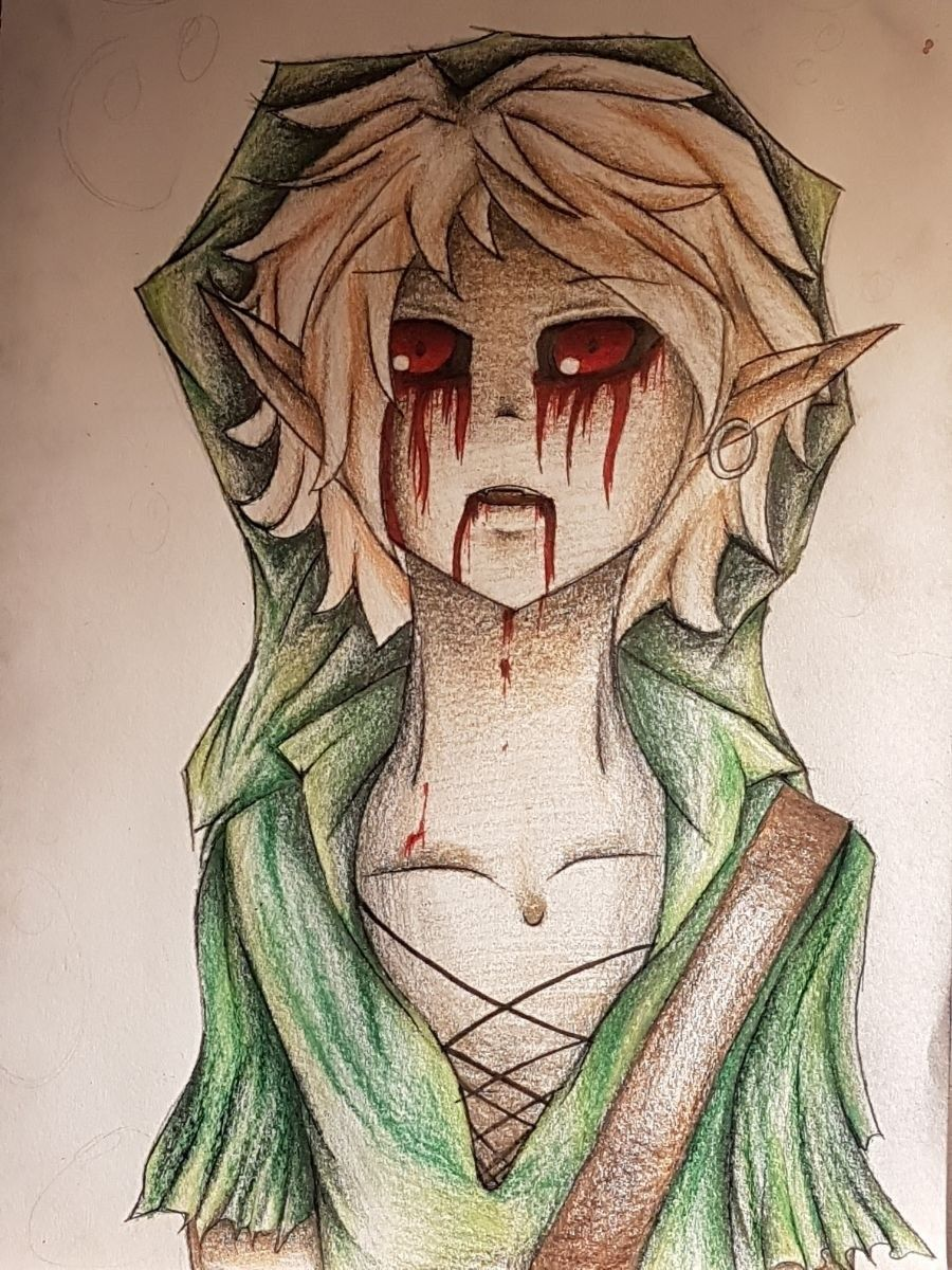 Ben Drowned Art Almost Finished