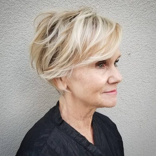 21 Best Short Haircuts for Women Over 60 to Look Y
