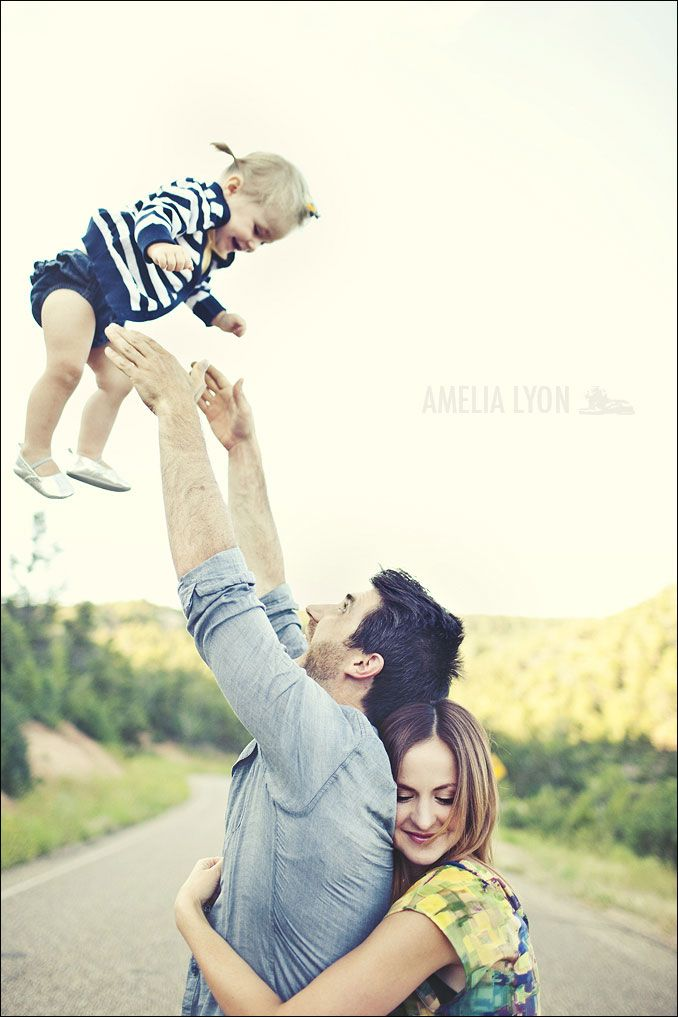this photo should be pinned too. cute family, and adorable man.