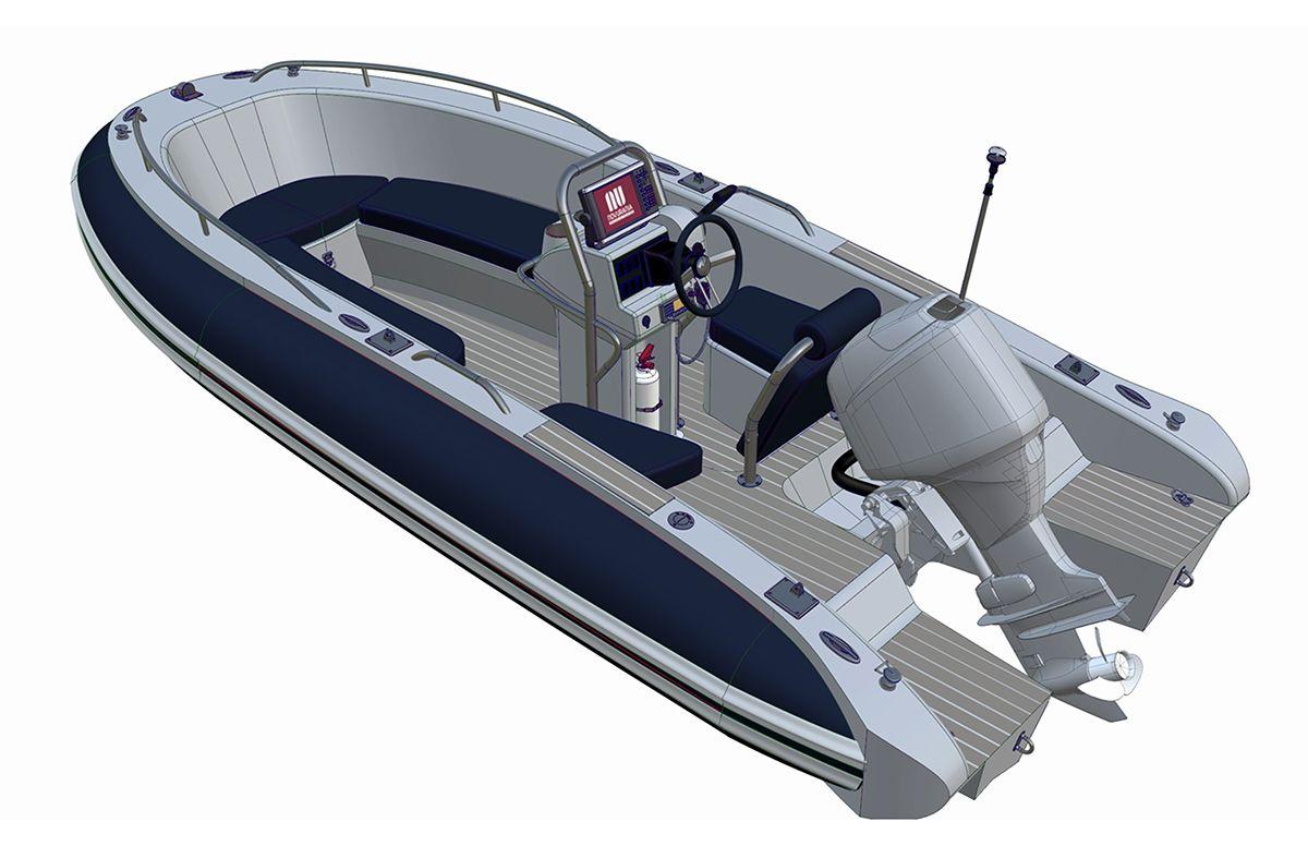 Yacht Tender Interior Design Phase 2 On Behance