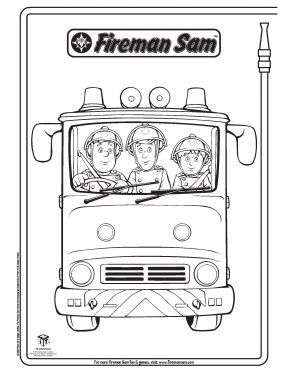 Fireman Sam Elvis And Penny Fireman Sam Coloring Pages Pbs Kids Sprout Fireman Sam Fireman Coloring Pages