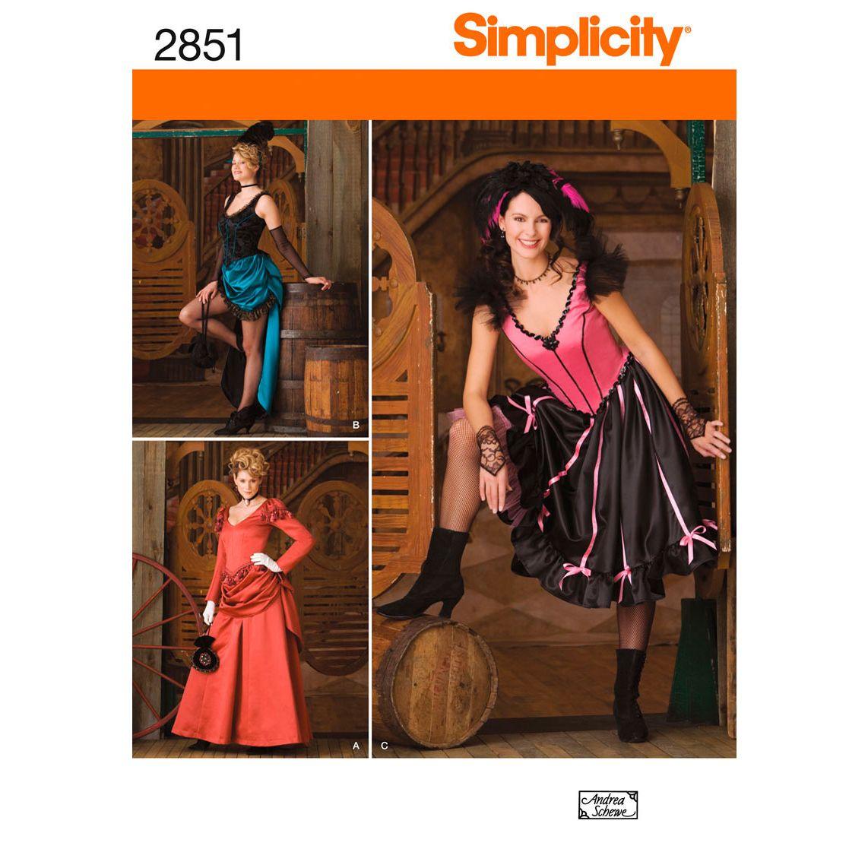 Simplicity Misses Costumes-14,16,18,20