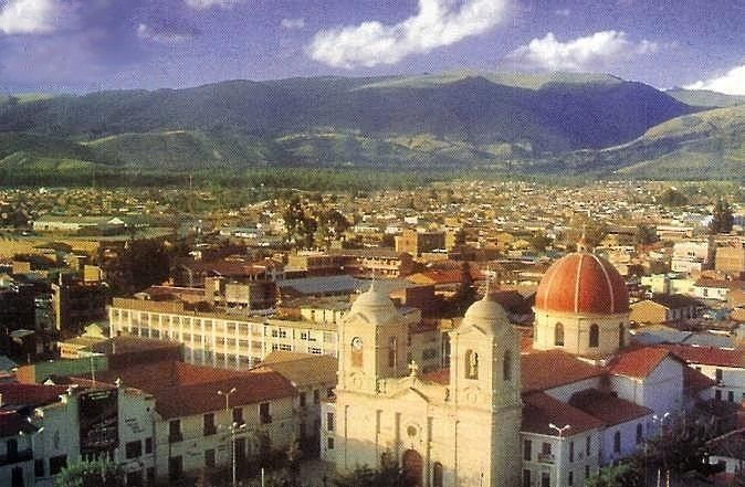 Image result for huancayo cathedral against mountains