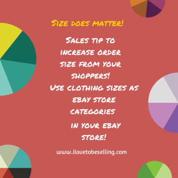 Want Larger Orders In Your Ecommerce Business Size Matters Size Matters Ecommerce Order