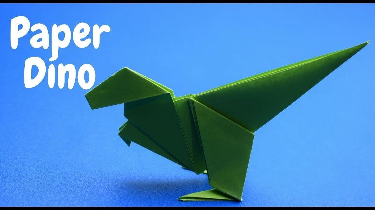 Photo of Wie man einen einfachen Origami-Dinosaurier macht   DIY CRAFT IDEAS   Wie man einen einfachen Origam macht …
