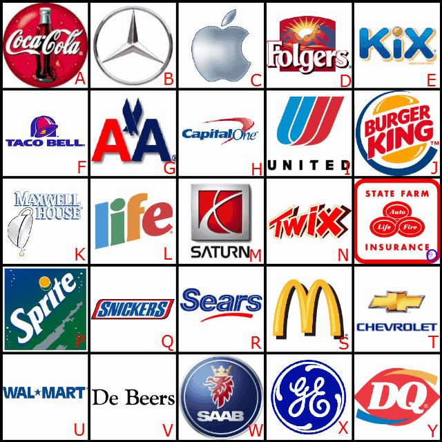 Can You Name The Slogan That Matches The Brand Logo