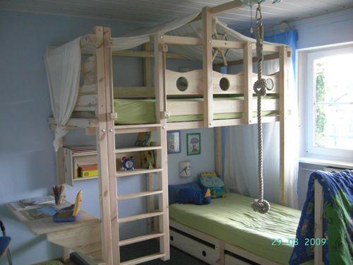 pin von marco bracco auf soppalco pinterest hochbetten kinderzimmer und spielbett. Black Bedroom Furniture Sets. Home Design Ideas