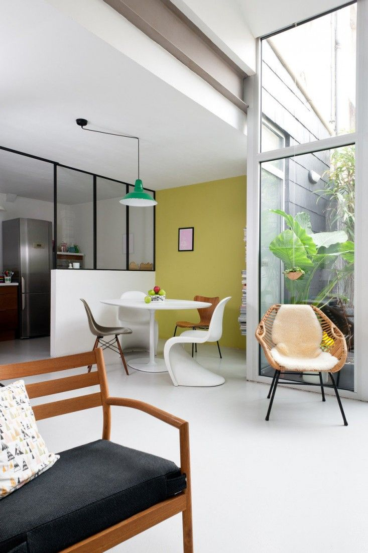 Gravity Interior | Pastel coloured home in France via Remodelista