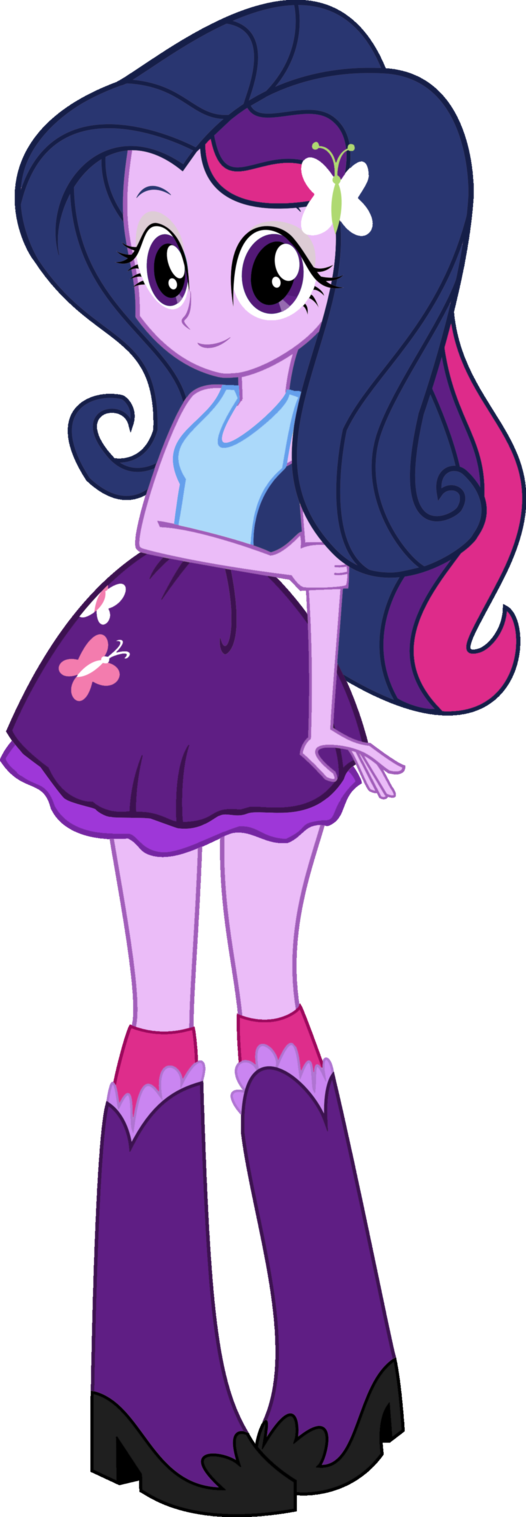 Twilight Fluttershy By Iamsheila My Little Pony