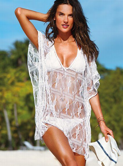 180a45e7b4 Cover-up a croché - Beach Sexy® - Victoria's Secret | Classy Keepers ...
