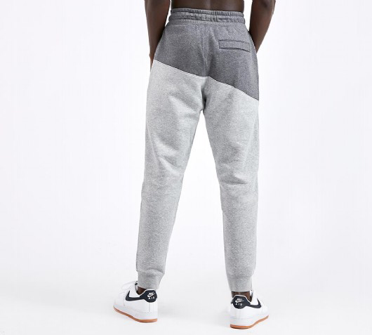 Nike Swoosh Fleece Pant Charcoal Heather Footasylum