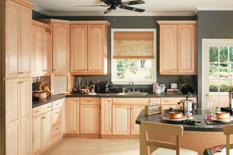 Orchard Shenandoah Cabinetry Maple Kitchen Cabinets Maple Kitchen Kitchen Wall Colors