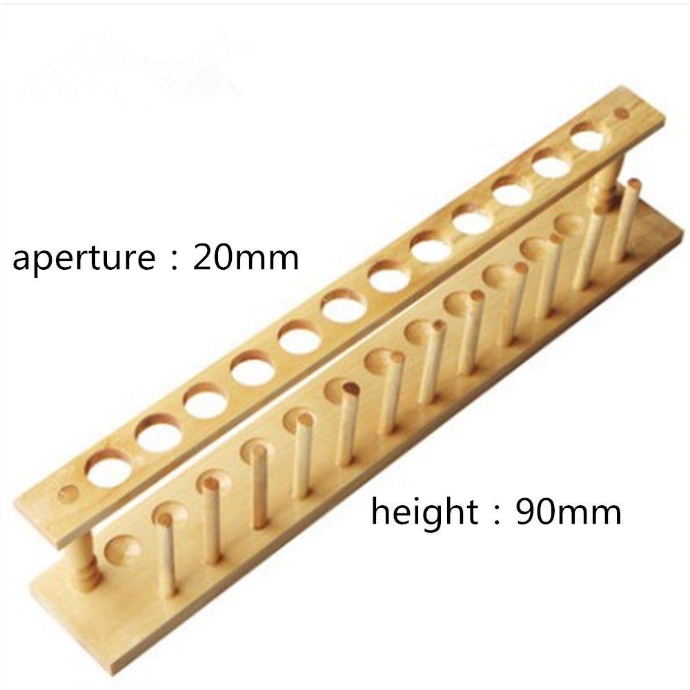 1pcs Test Tube Rack Wooden Laboratory Test tube Stand Shelf Lab ... for Laboratory Test Tube Holder  186ref