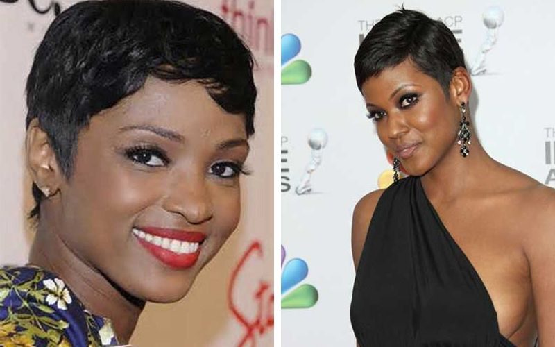 Pixie Short Haircuts For Black Women With Round Faces