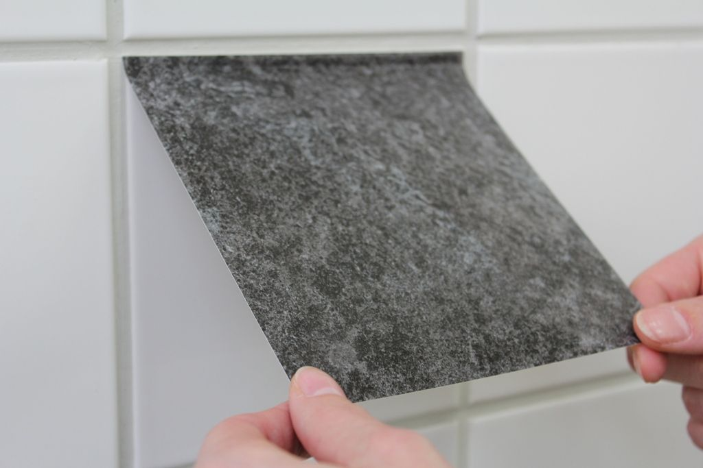 Fliesenfolie anbringen badezimmer pinterest tiles - Fliesenfolie badezimmer ...