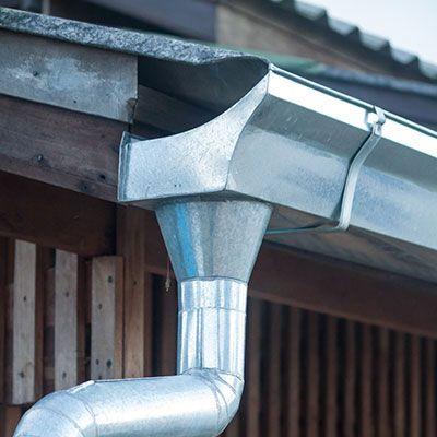 Galvanized Rain Gutters Painting Galvanized Metal Galvanized Roofing Galvanized Gutters