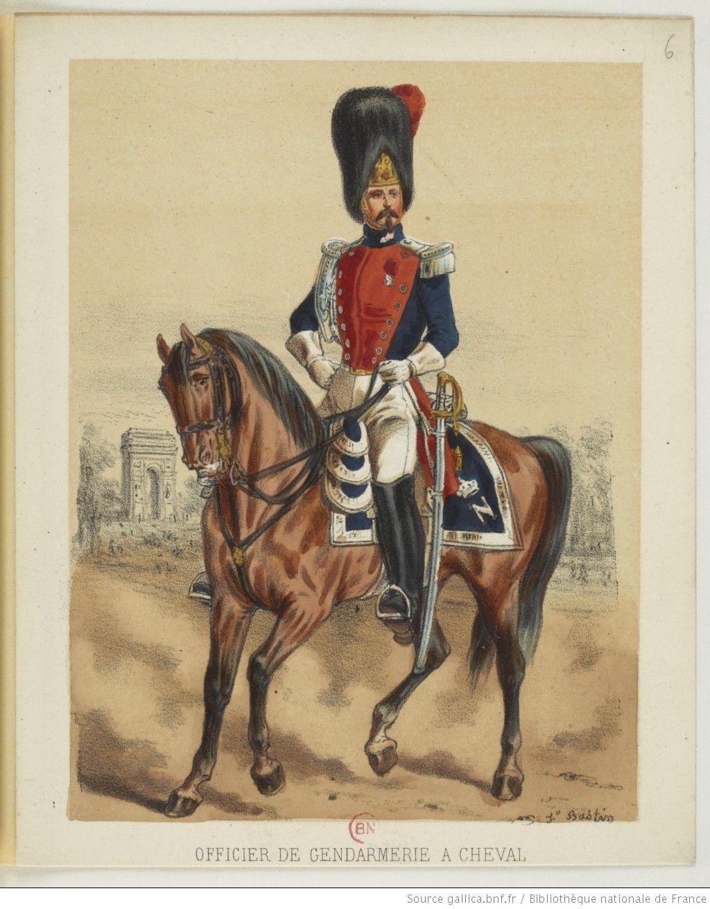 [Armée française sous Napoléon III / dessinée par F. Bastien, 1854-1856.]   Gallica