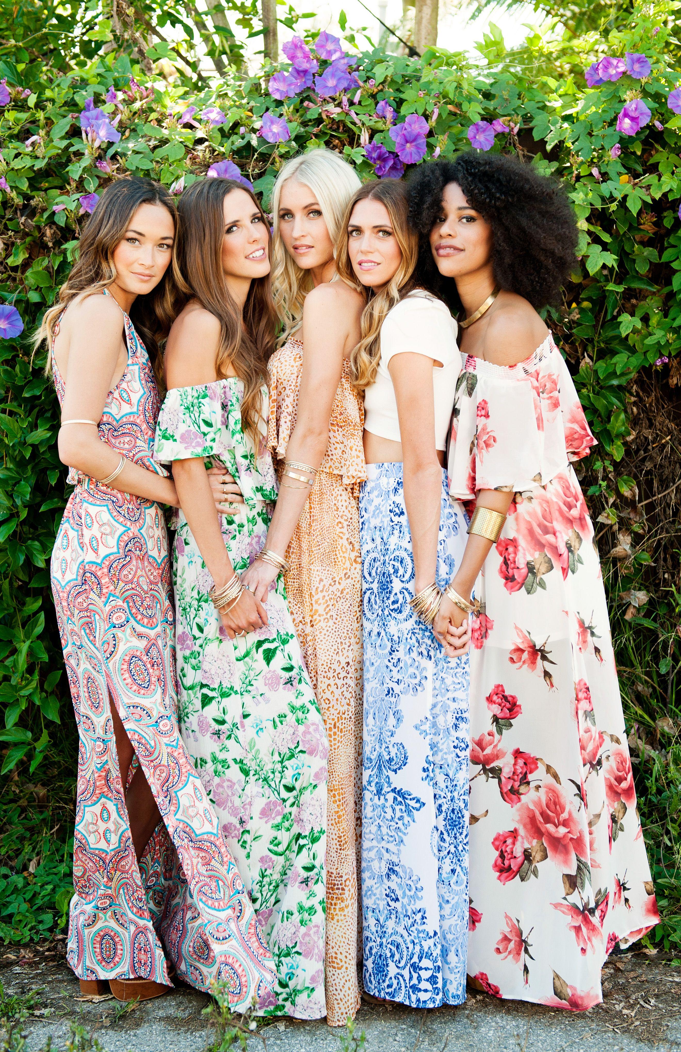 f0b3ca2a4b3c Show Me Your Mumu Hippie Bridesmaid Dresses, Boho Bridesmaids, Printed  Bridesmaid Dresses, Bridal