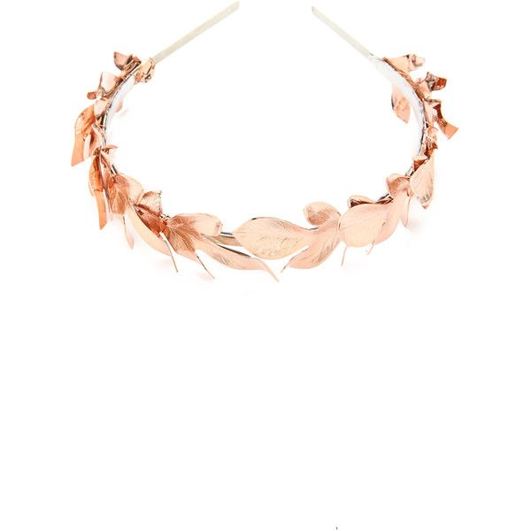 b6ef8e1a800e Eugenia Kim Lys Headband - Rose Gold ( 215) ❤ liked on Polyvore featuring  accessories